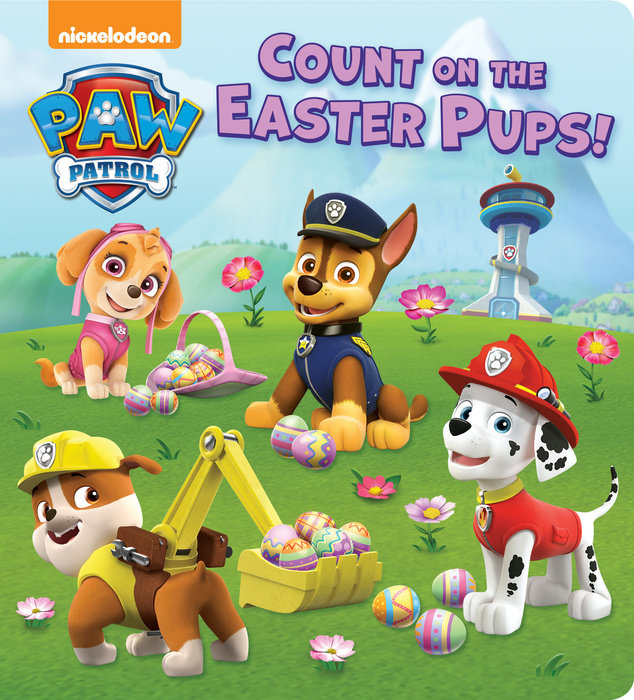Cover of Count on the Easter Pups! (PAW Patrol)