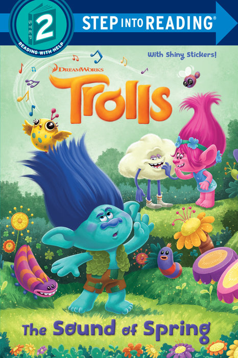 Cover of The Sound of Spring (DreamWorks Trolls)