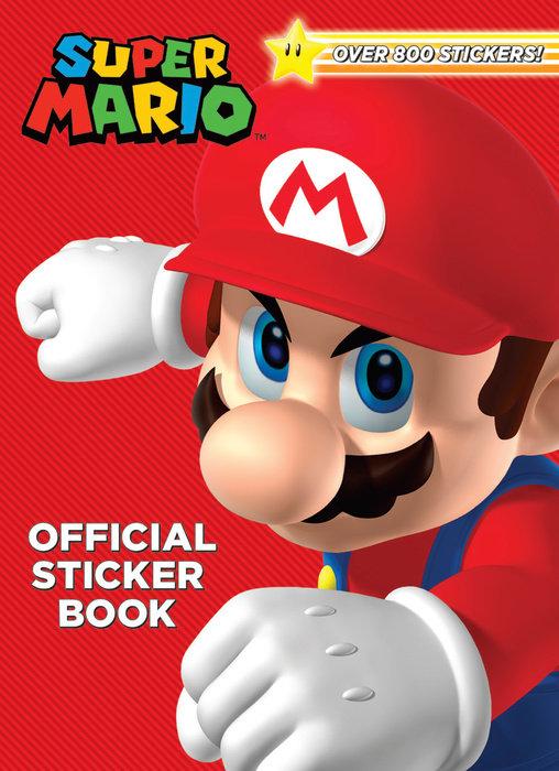 Cover of Super Mario Official Sticker Book