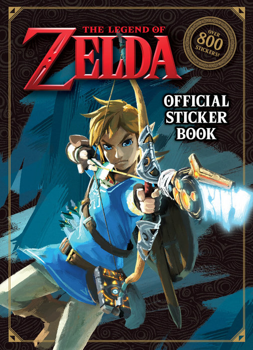 Cover of The Legend of Zelda Official Sticker Book