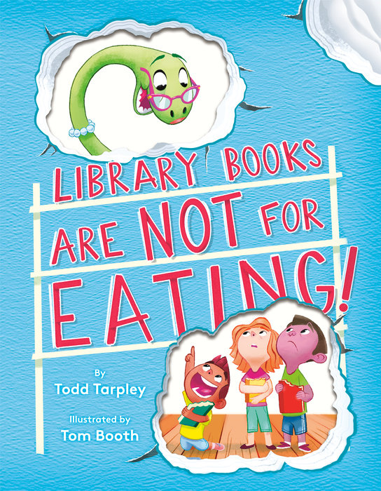 Cover of Library Books Are Not for Eating!