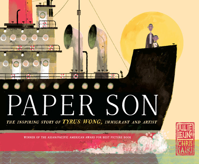 Cover of Paper Son: The Inspiring Story of Tyrus Wong, Immigrant and Artist