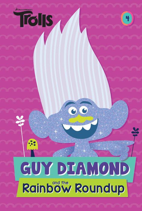 Cover of Guy Diamond and the Rainbow Roundup (DreamWorks Trolls)
