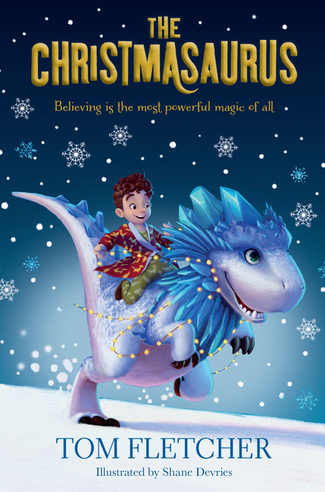 Book cover for The Christmasaurus