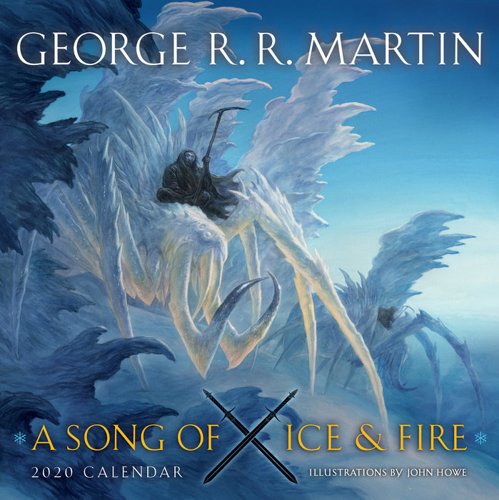 Wing House Calendar 2020 A Song of Ice and Fire 2020 Calendar   Random House Books
