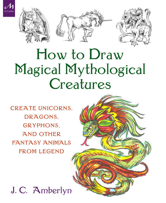 How to Draw Magical Mythological Creatures |