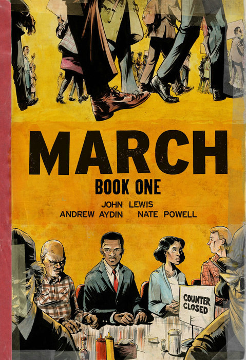 March: Book One (Oversized Edition) by Andrew Aydin & John Lewis