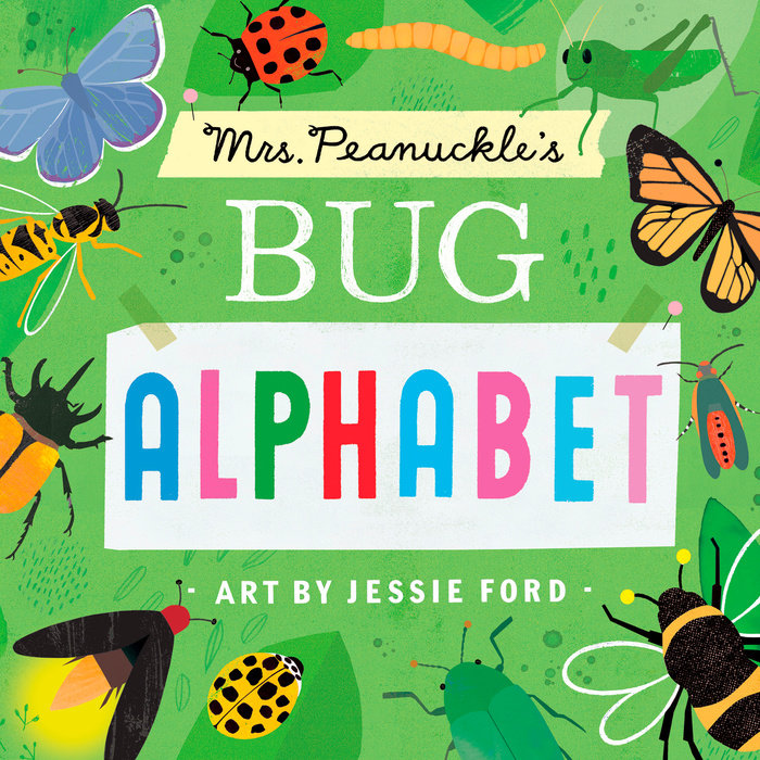 Cover of Mrs. Peanuckle\'s Bug Alphabet