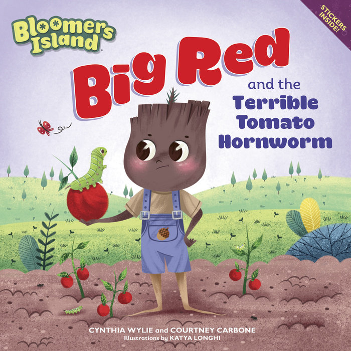 Cover of Big Red and the Terrible Tomato Hornworm