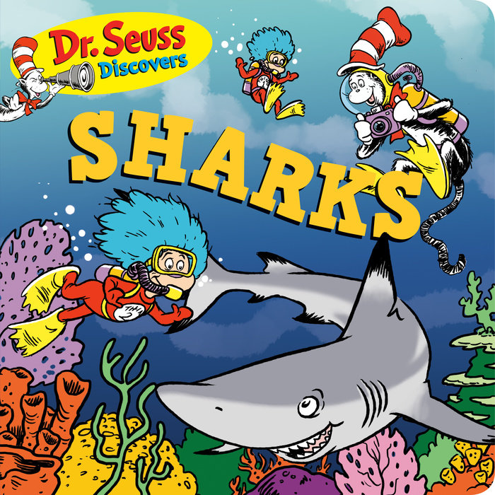 Cover of Dr. Seuss Discovers: Sharks