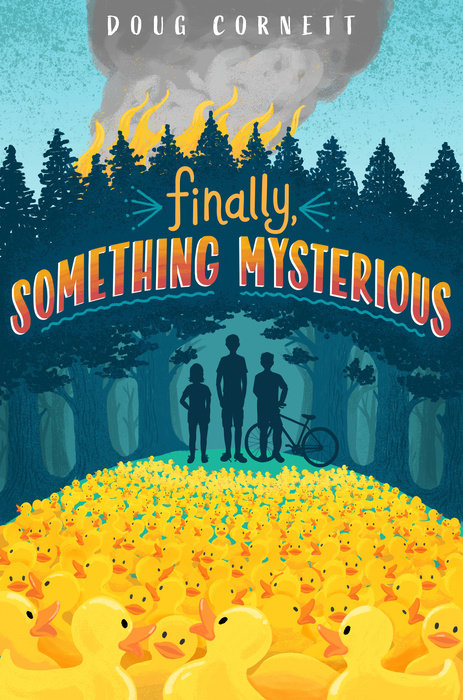 Cover of Finally, Something Mysterious