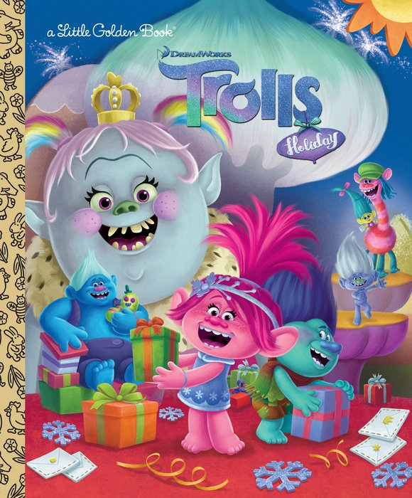 Cover of DreamWorks Trolls Holiday LGB (DreamWorks Trolls)