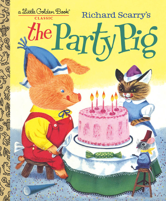 Cover of Richard Scarry\'s The Party Pig