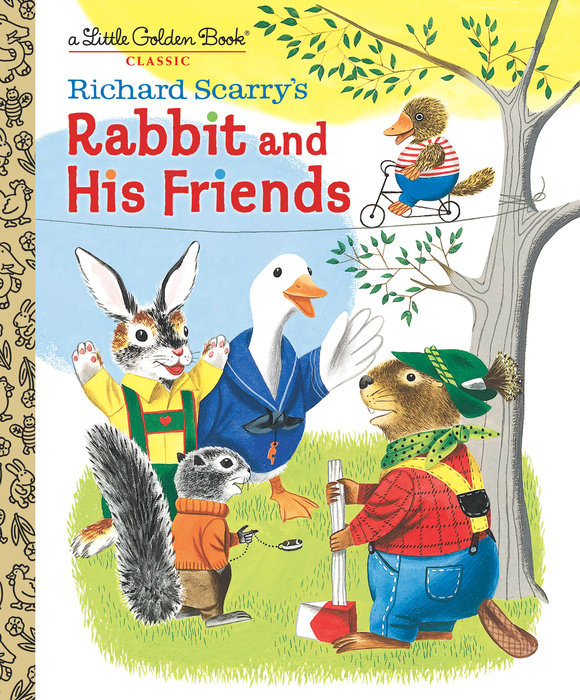 Cover of Richard Scarry\'s Rabbit and His Friends