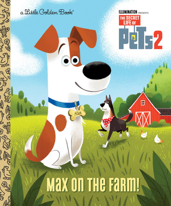 Cover of Max on the Farm! (The Secret Life of Pets 2)