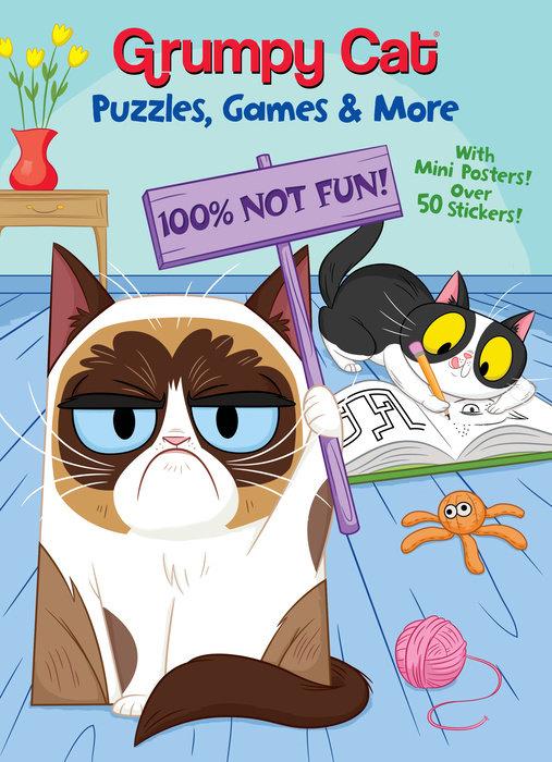 Cover of Grumpy Cat Puzzles, Games & More (Grumpy Cat)