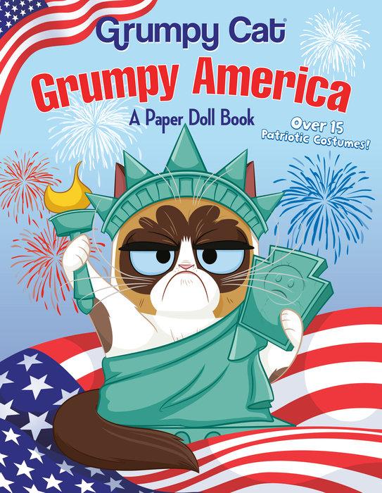 Cover of Grumpy America: A Paper Doll Book (Grumpy Cat)