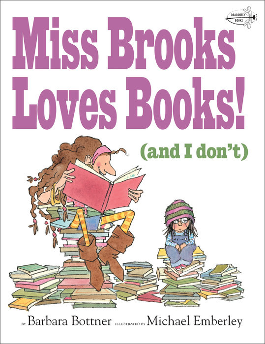 Cover of Miss Brooks Loves Books (And I Don\'t)