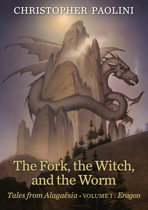 Book cover for The Fork, the Witch, and the Worm