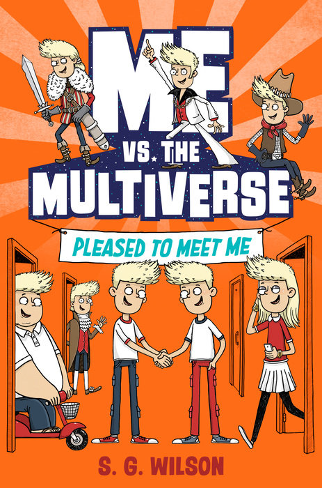 Cover of Me vs. the Multiverse: Pleased to Meet Me