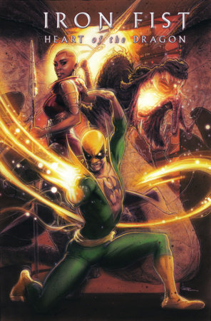 IRON FIST: HEART OF THE DRAGON 4 ANDREWS VARIANT