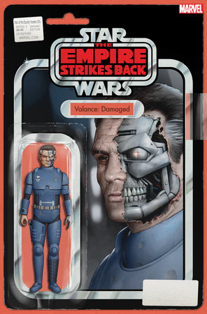 STAR WARS: WAR OF THE BOUNTY HUNTERS 5 CHRISTOPHER ACTION FIGURE VARIANT