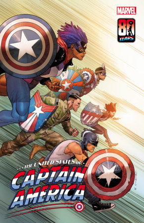 THE UNITED STATES OF CAPTAIN AMERICA 5 YU VARIANT