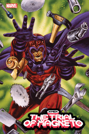X-MEN: THE TRIAL OF MAGNETO 3 JUSKO MARVEL MASTERPIECES VARIANT