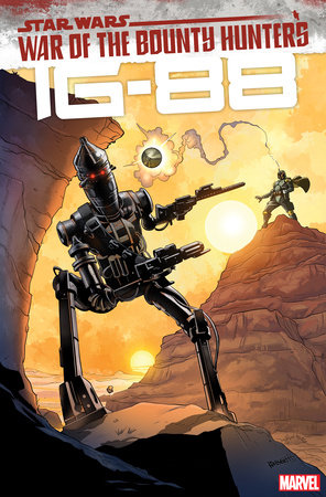 STAR WARS: WAR OF THE BOUNTY HUNTERS - IG-88 1 HEIGHT VARIANT