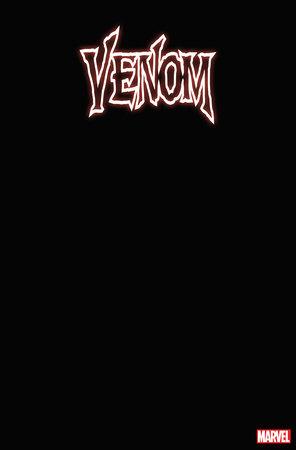VENOM 1 BLACK BLANK COVER VARIANT
