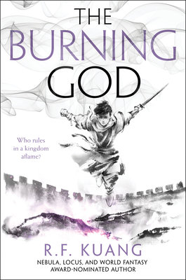 Cover of The Burning God