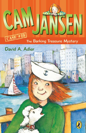 Cam Jansen: the Barking Treasure Mystery #19
