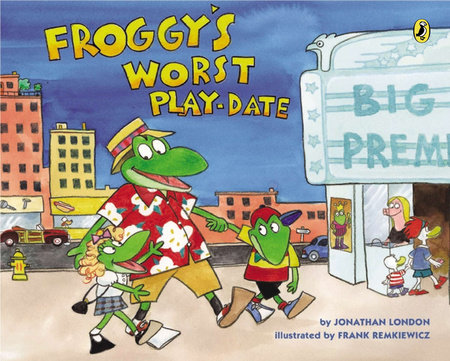 Froggy's Worst Playdate