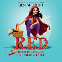 Cover of Red: The (Fairly) True Tale of Red Riding Hood cover