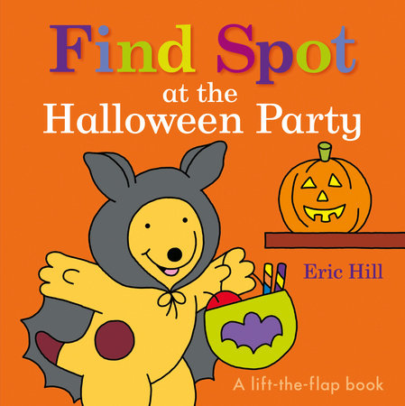 Find Spot at the Halloween Party