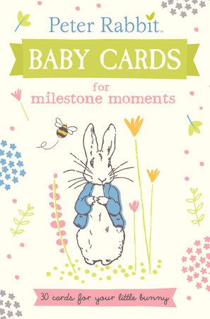 Peter Rabbit Baby Cards for Milestone Moments