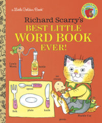 Book cover for Richard Scarry\'s Best Little Word Book Ever