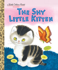 Book cover for The Shy Little Kitten