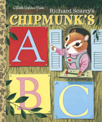 Book cover for Richard Scarry\'s Chipmunk\'s ABC