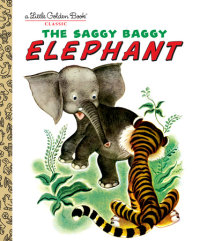 Book cover for The Saggy Baggy Elephant