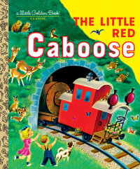 Book cover for The Little Red Caboose