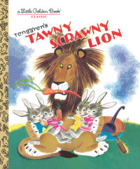 Book cover for Tawny Scrawny Lion