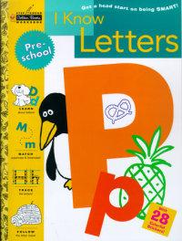Book cover for I Know Letters (Preschool)