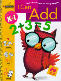 Book cover for I Can Add (Grades K - 1)