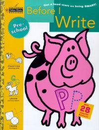 Book cover for Before I Write (Preschool)