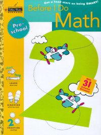 Book cover for Before I Do Math (Preschool)