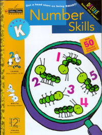 Book cover for Number Skills (Kindergarten)