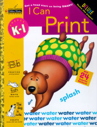 Book cover for I Can Print (Grades K - 1)