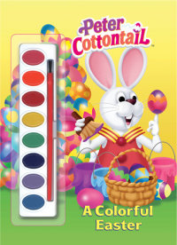 Book cover for A Colorful Easter (Peter Cottontail)