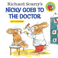 Book cover for Richard Scarry\'s Nicky Goes to the Doctor